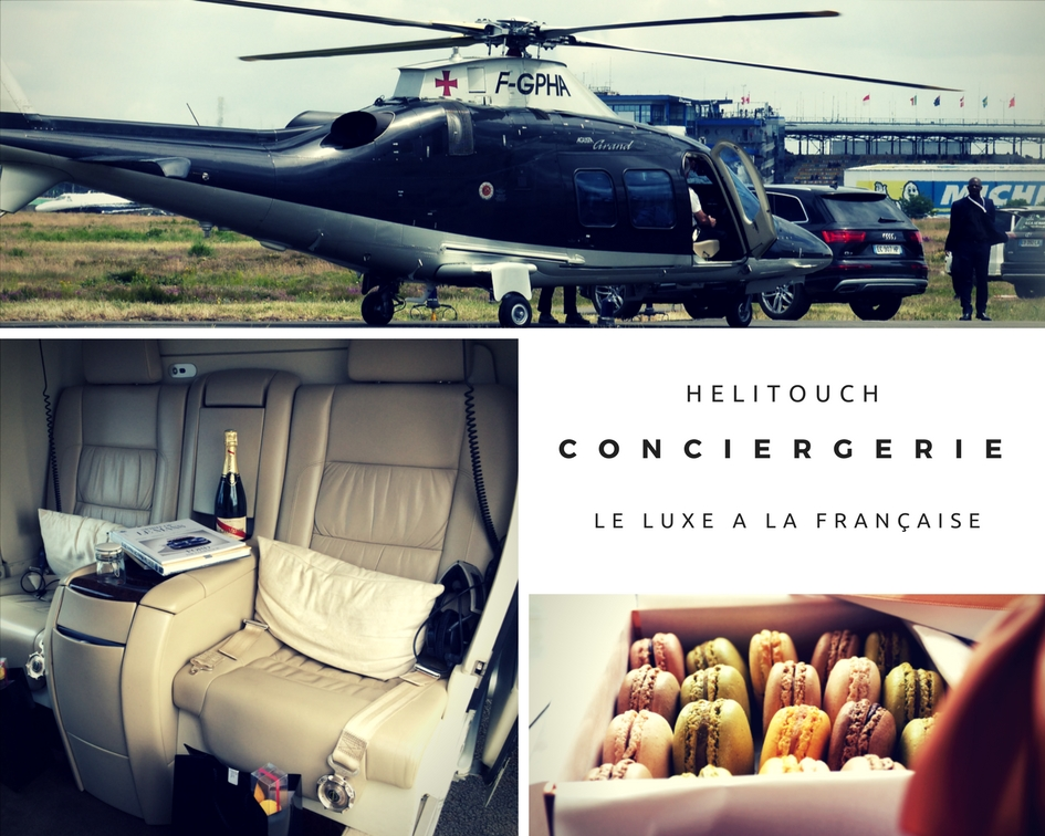 CONCIERGE HELICOPTER