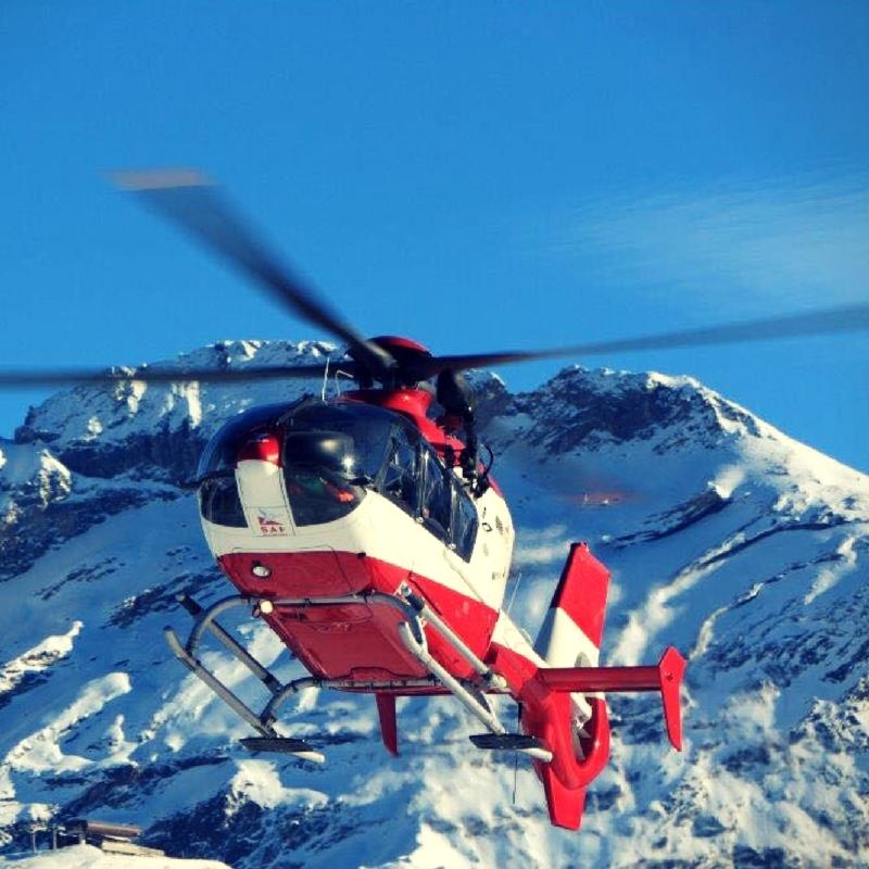 hélicoptère Montagne