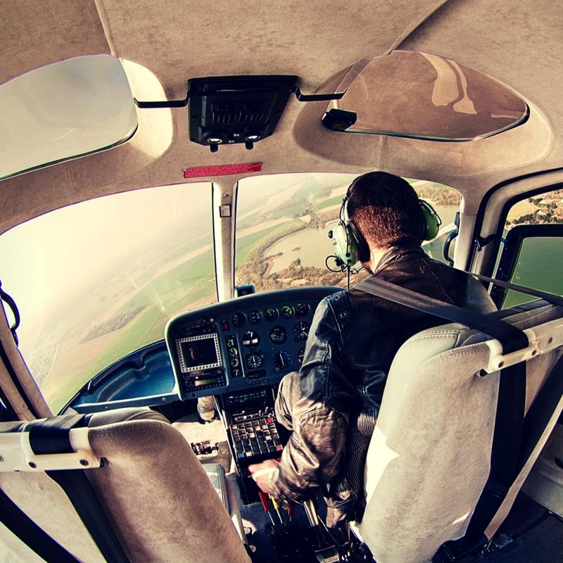 Prises de vues en hélicoptère