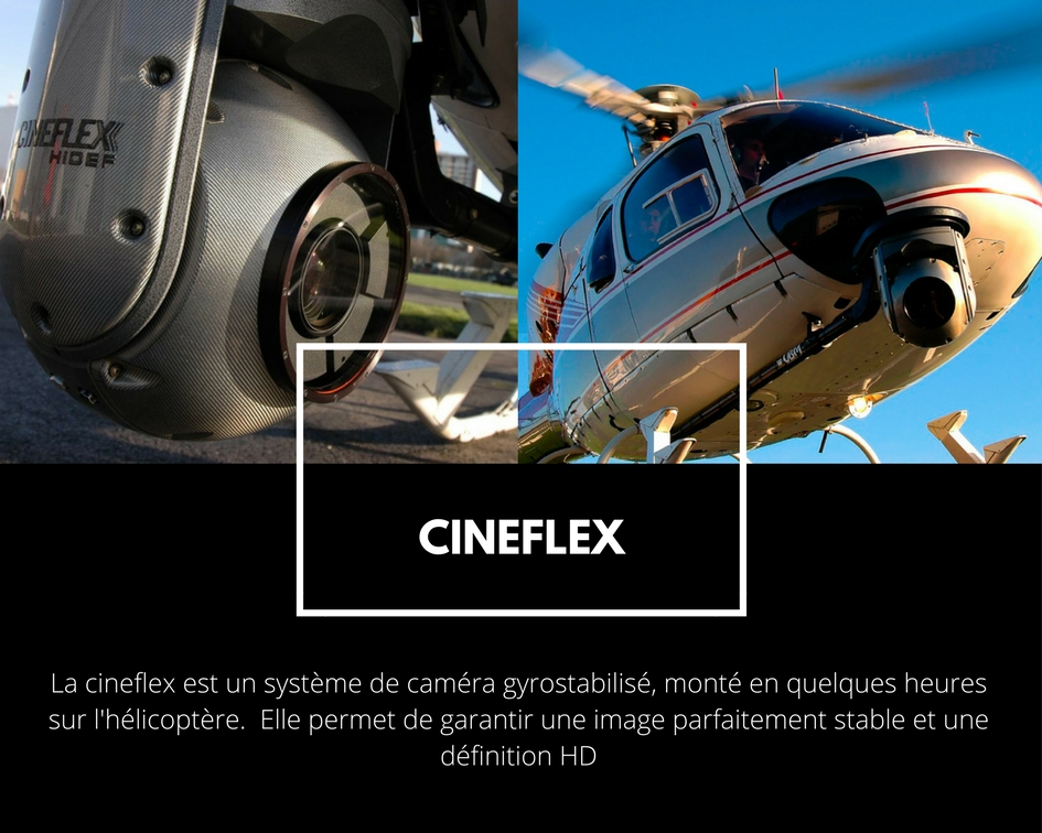 Cineflex helicoptère