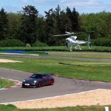 Porsche hélicoptère
